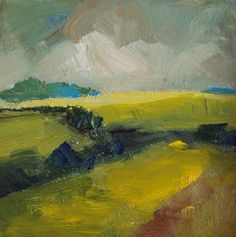 Daily paintings by Parastoo Ganjei - My new paintings: landscape paintings