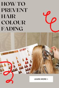 In this blog, we will be answering; Why is my hair colour fading so fast? Can the sun fade my colour? Does washing your hair fade colour? How often should I wash my coloured hair? How do I make my colour last longer? EXTRA TIPS AND TRICKS TO LOCK IN YOUR COLOUR AND AVOID THE DREADED FADE #haircolour #fading #preventcolour #colour #tip #trciks Fade Color, Hair Colour, Tape In Hair Extensions, Fade Out, Coloured Hair, Stop It, Hair Blog, Dyed Hair