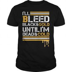 I Love Bleed blacks and cold T-Shirts