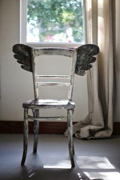silla con alas