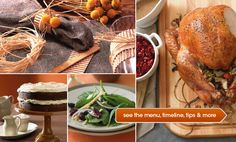 Thanksgiving for a Crowd -   Everything you need to host a large Thanksgiving, including recipes with do-ahead tips, wine advice, decorating ideas, and a handy timeline