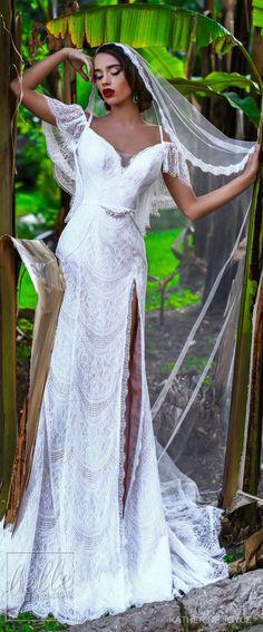 Wedding Dress by Katherine Joyce - Ma Cheri Bridal Collection Pretty Wedding Dresses, Wedding Dresses 2018, Bridal Dresses, Beautiful Gowns, Beautiful Bride, Wedding Gallery, Boho Wedding, Wedding Bells, Summer Wedding