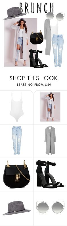 """""""🌺"""" by mimzyel ❤ liked on Polyvore featuring ATM by Anthony Thomas Melillo, Missguided, Topshop, ADAM, Chloé, Kendall + Kylie, Miss Selfridge and Marc Jacobs"""
