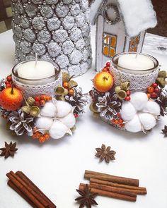 За окном пасмурно☁️сыро🌧и холодно💨не повод грустить!🤗 Самое время начать подготовку к Новому Году🎄 и подумать о подарках🎁 для близких и друзей!😊 ⠀ ................................................... Предлагаем Декор для новогодних праздников Рождественские венки Подсвечники Композиции из Ростовых цветов Приобрести или сделать заказ можно 📲+79881072606 ✍️What's App .............................................. #новогоднийдекор #декордлядома #декоризприродныхматериалов #...