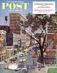 Saturday Evening Post Copyright 1960 Peachtree Street - www.MadMenArt.com | Published 1897-1969. We especially like the Norman Rockwell American culture covers. #SaturdayEveningPost #Vintage #Post #Magazines #Illustrations #Humor #MagazineCovers #Cartoons #VintageIllustrations
