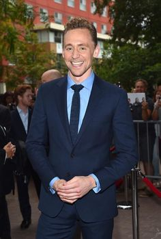 #TomHiddleston at the #TIFF2015 red carpet premiere of I Saw The Light. September 11, 2015. Getty Image courtesy of Torrilla.