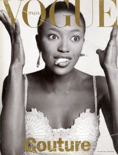 naomi campbell by st