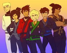 This is probably the best drawing of the stupid ninjago movie characters.. I love them all in the series it's just the movie is disappointing