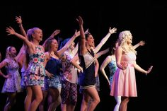 Elle Woods and the Delta Nus - Costuming by R MAHONEY DESIGN - Legally Blonde the Musical