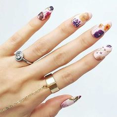 11 Pressed Flower Manicures That Will Become Your Spring Obsession   Brit + Co