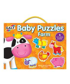 Take a look at this Farm Baby Puzzle Set on zulily today!