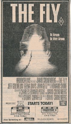 David Cronenberg's The Fly (1986)