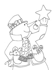 Free Dearie Dolls Digi Stamps Christmas Snowman