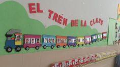 Idea para decoración ✿⊱╮ Classroom Walls, Classroom Decor, Micro Creche, Activities For 1 Year Olds, Preschool Rooms, Church Nursery, School Decorations, Birthday Board, In Kindergarten