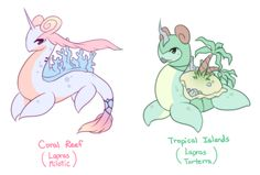 pokemon subspecies | Tumblr