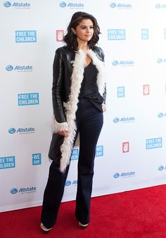 """Selena Gomez attends """"We Day Illinois"""" at the Allstate Arena in Rosemont, Illinois. April 30, 2015."""