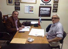 De visita Don Miguel Sandoval Comisario General RE .