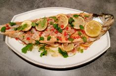 Edels Mat & Vin: Ovnsbakt ørret med asiatiske smaker ! Frisk, Meat, Chicken, Food, Cilantro, Essen, Meals, Yemek, Eten