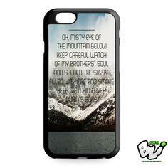 Ed Sheeran Lyric iPhone 6 Case | iPhone 6S Case