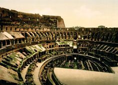 A photograph of the Colosseum taking circa 1897.