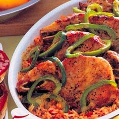 Pork Chop 'n'  Rice Casserole