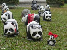 I want this panda statues in my garden asap!
