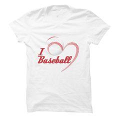 I Love Baseball T-Shirts, Hoodies. ADD TO CART ==► https://www.sunfrog.com/Sports/I-Love-Baseball.html?id=41382