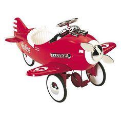 Sky King Pedal Plane : Toys For Boys at PoshTots