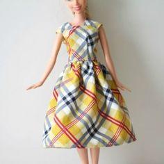 tutorial abiti per Barbie