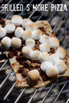 Grilled S'more Pizza Recipe!  For all of your pizza cravings visit Stosh's Pizza in Center Line, MI!  Give us a call at (586) 757-6836 to place your order or visit our website www.stoshspizza.com for more information!
