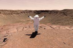 'Greetings from mars' de Julien Mauve (Yosfot blog)