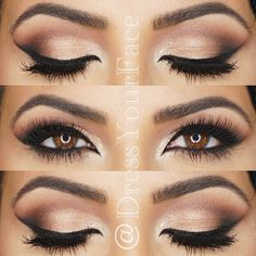 Best Eye Makeup Looks for Brown Eyes17