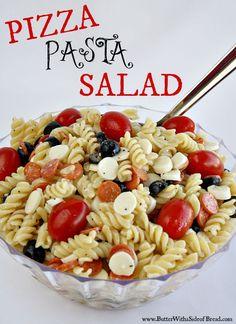 Refreshing Pizza Pasta Salad Recipe