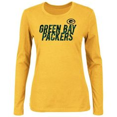 New Agreeable To Taste Nfl Ladies Grey Heather Long Sleeve Shirt The Cheapest Price Green Bay Packers