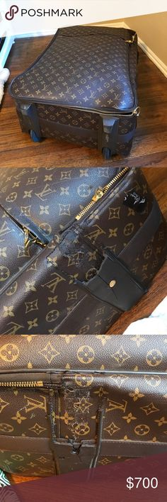 Louis Vuitton luggage bag Has been all around the world. Needs some upkeep. Priced accordingly. Louis Vuitton Bags Travel Bags