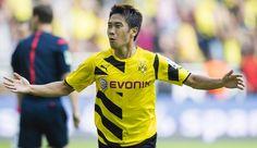 """Ngay trong trận đầu tiên ở lần trở lại """"mái nhà xưa"""" Dortmund, tiền vệ Shinji Kagawa đã thi đấu đầy ấn tượng để giúp đội bong da vùng Ruhr dễ dàng bắn hạ Freiburg với tỉ số 3-1.   http://ole.vn/video-bong-da.html,http://ole.vn/xem-bong-da-truc-tuyen.html,http://tintucmoinhat60s.blogspot.com;http://bongda.sms.vn/"""