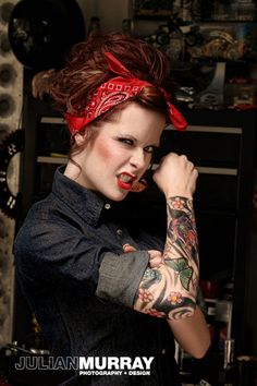 Julian Murray Photography - Rebecca Vendetta #Tattoos #TattooedGirl #Ink #Inked #TattooedChick #Tattooed #Lifestyle #PinUp #Fetish #RebeccaVendetta #Rebecca #Vendetta #Photography #Modeling - Featured on: TattooSnob.com