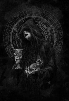 Dark art for our inner demons: Photo Gothic Fantasy Art, Fantasy Artwork, Arte Horror, Horror Art, Arte Marilyn Manson, Lila Baby, Beautiful Dark Art, Satanic Art, Ange Demon