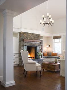 Gast Architects: Projects - traditional - living room - san francisco - Gast Architects