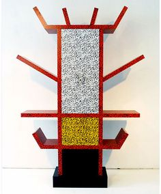 Casablanca sideboard, 1981, by Ettore Sottsass in postmodern Memphis style