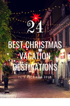 Its December and that means only one thing – Christmas is around the corner! To celebrate the festive season here are 24 of the best Christmas vacation destinations you should consider visiting. Christmas Holiday Destinations, Best Christmas Vacations, Best Family Vacations, Christmas Travel, Holiday Travel, Christmas Fun, Winter Travel, Best December Vacations, Family Getaways
