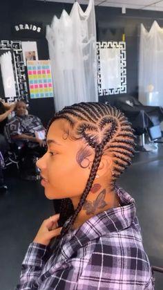Lemonade Braids Hairstyles, Feed In Braids Hairstyles, Box Braids Hairstyles For Black Women, Braids Hairstyles Pictures, Black Girl Braids, Braided Hairstyles For Black Women, Baddie Hairstyles, Braids For Black Hair, Athletic Hairstyles