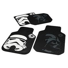 Star Wars Automotive Floor Mats http://rstyle.me/n/tsre9nyg6