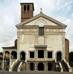 San Sebastiano v Mantově (od 1460) Leon Battista Alberti