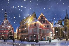 Esslingen, Germany -- looks picture perfect, like right out of a getting card