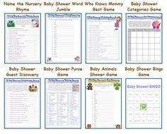 Baby Shower Game Ideas For Girls - Child Shower Games, Prizes and Gifts at Baby Showers | Shower Ideas