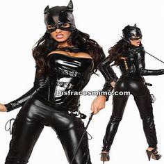 Tu mejor disfraz cat woman mujer adulto.para mujer no pasarás desapercibida en Despedidas de Soltera, Fiestas de Disfraces o Carnavales.
