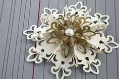 Paper Snowflake - Fleur de Lis Ornament TUTORIAL kirigami