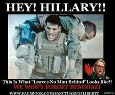Hillary killed Americans in Bengazi. When the terrorists first attacked Americans in Bengazi they picked up (stole) State Dept cell phones. State Dept personnel listened in real time to the terrorists making calls to their cohorts about how the attack was going, etc. The Obama administration knew from the first minutes of the attack exactly what was going on and that it had nothing to do with a video.