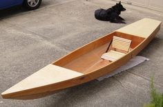 plywood canoes   Other Plywood Projects – Toto Kayak   Compact Camping Concepts